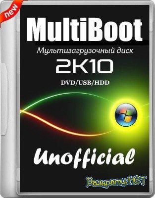 MultiBoot 2k10 DVD/USB/HDD 5.12 Unofficial (2015/RUS/ENG)
